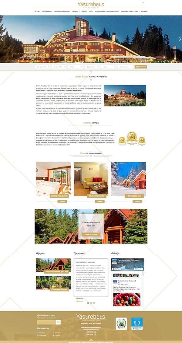 хотелски уебсайт