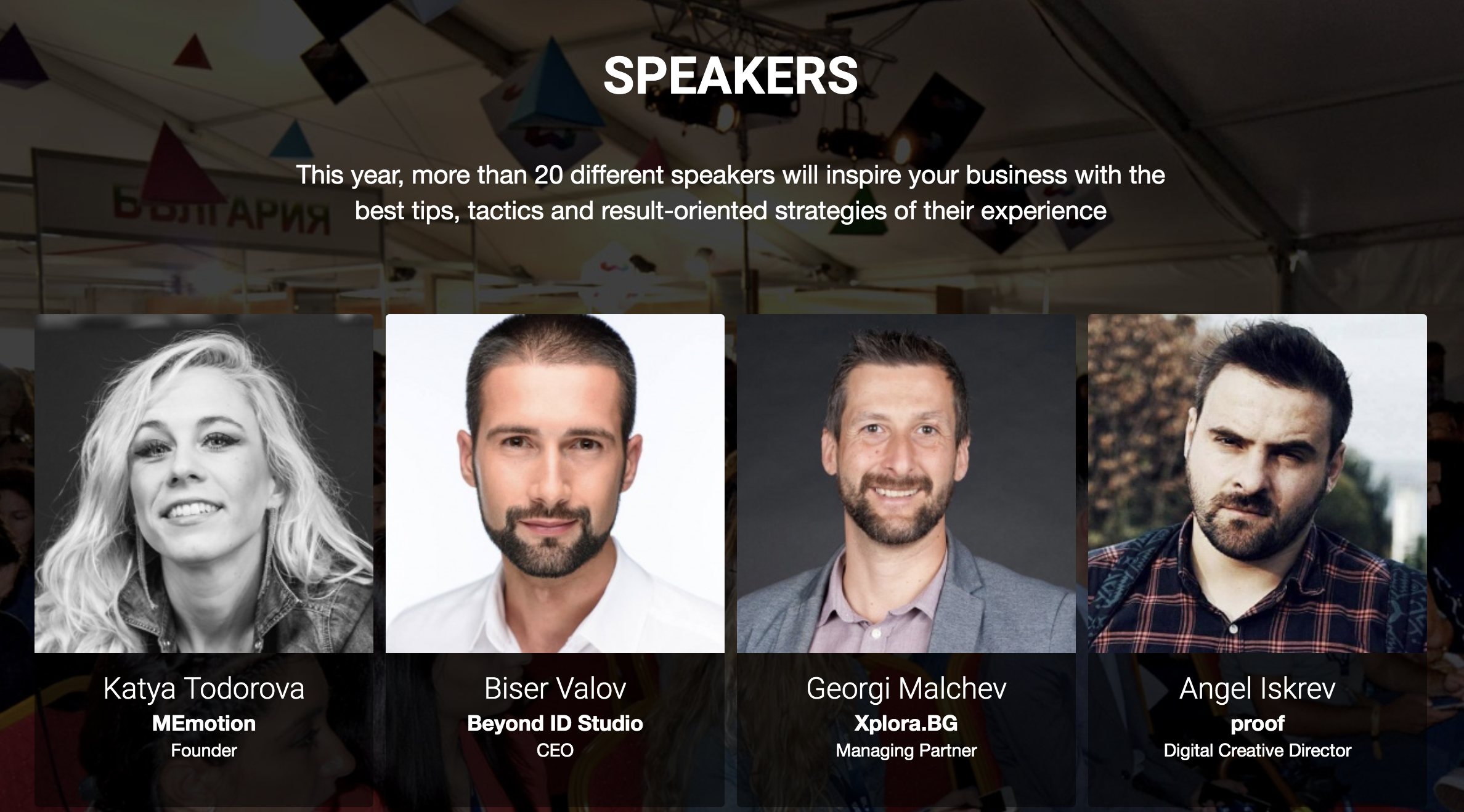 Speakers Webit Bulgaria Digital Summit